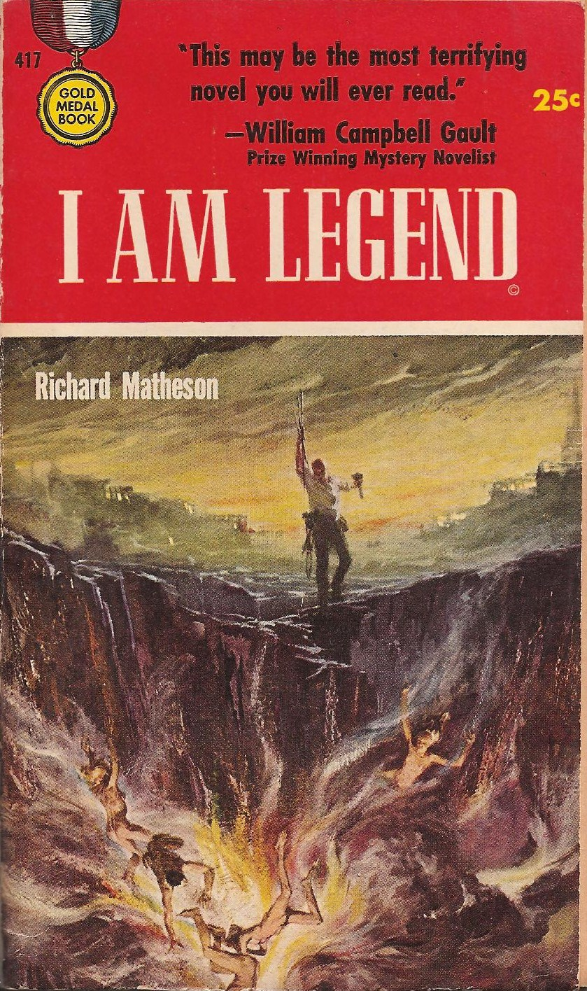 i am legend richard matheson I am legend, directed by francis lawrence, is the latest adaptation of richard matheson's 1954 novel of the same name, following two earlier versions - the last man.