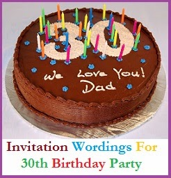 Sample invitation wordings birthday party invitation wordings are you about to turn 30 and planning to celebrate the joyous occasion with your friends and relatives filmwisefo