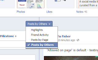 how to see hidden posts on facebook timeline