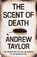 Hardback cover of The Scent of Death by Andrew Taylor