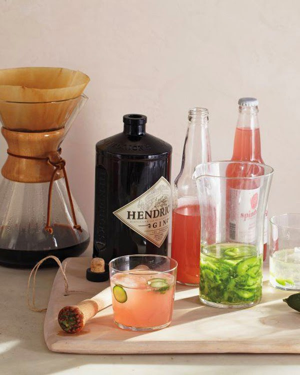 Cucumber infused gin and grapefruit fizz; the perfect cocktail to ...