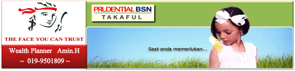 Agent No.1 Prudential BSN TAKAFUL