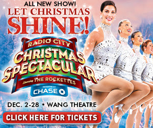 Radio City Christmas Spectacular with Rockettes Vacation Check out this great New York City Christmas Vacation customized by local NYC vacation experts. The NYC Holiday package, includes hotel, Rockettes tickets, a visit back stage on the Radio City Music Hall Stage Door Tour, where you meet a Rockette, Empire State Building and Top of the Rock and much more.