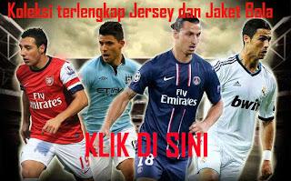 Jual Jersey dan Jaket Bola Terlengkap