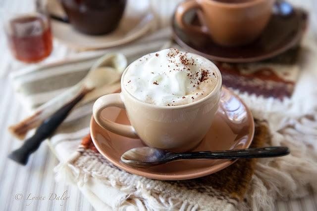 Cafe Lynnylu: Dulce de Leche Coffee-Black and White Wednesday #112