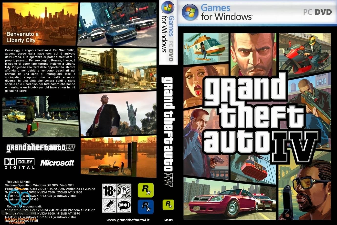 GTA 4 Türkçe Full Hızlı Tek Link İndir