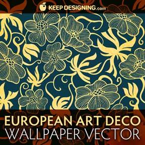 vectores de diseño patrones florales