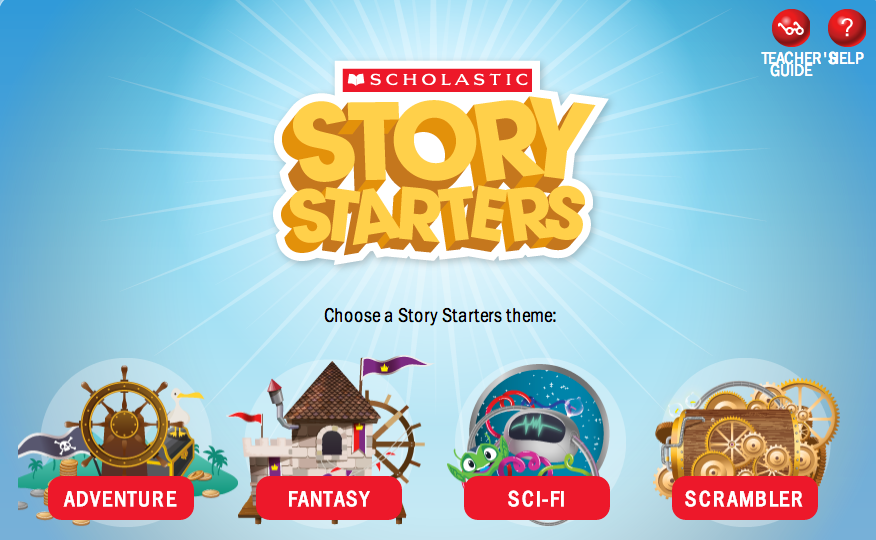 story starters first grade
