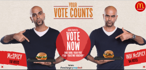 Free Rs.50 Freecharge Coupon By Giving Vote For Favourite Burger