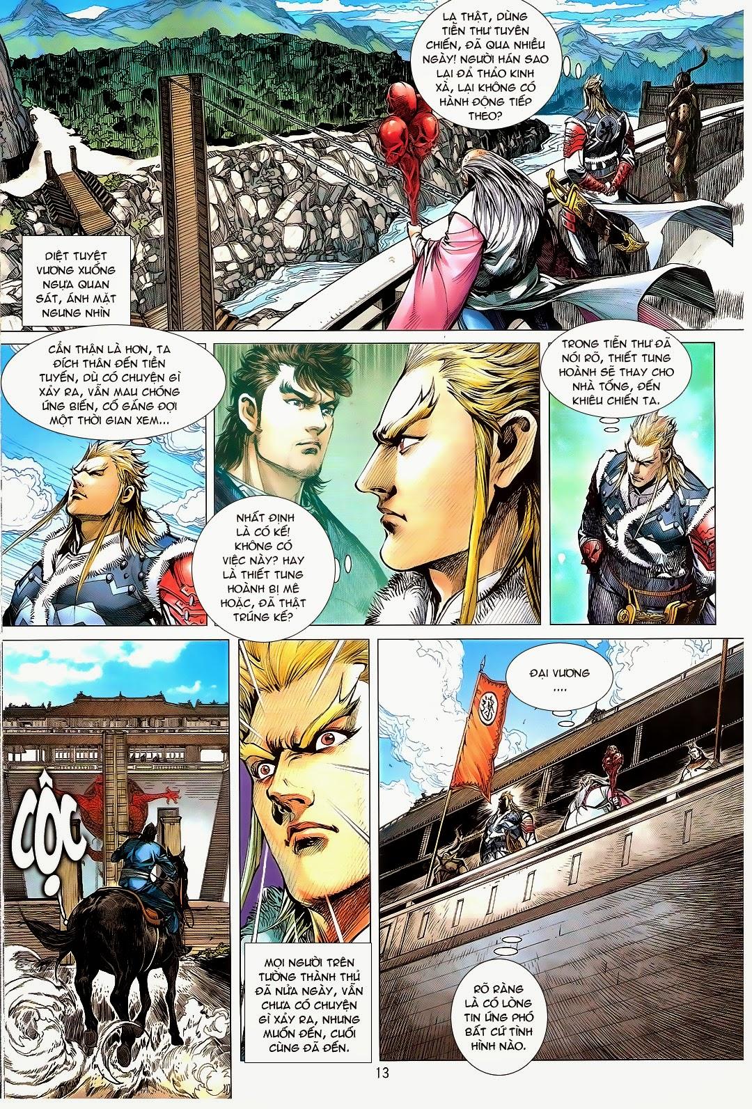 tuoithodudoi.com Thiết Tướng Tung Hoành Chapter 110 - 13.jpg