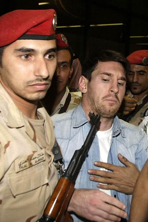 Lionel Messi en Arabia Saudita