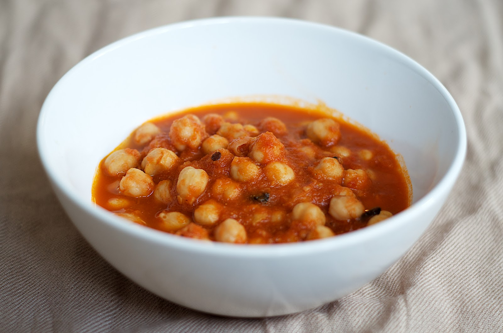 The Ginger Cook: Chickpeas Stew with Roasted Cumin and Tomatoes
