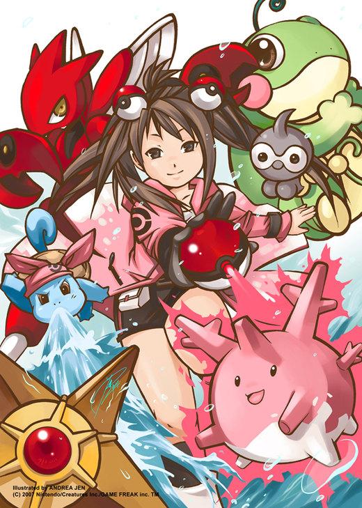 Pokemon character por handrewx