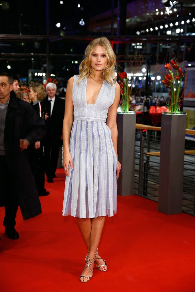 Fashion Model: Toni Garrn for 'Nobody Wants the Night' Premiere in Berlin