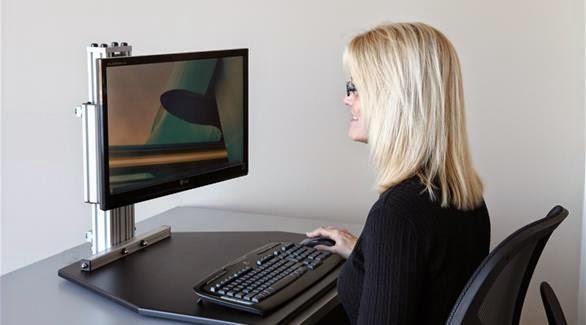 بعض الامراض التي يسببها الجلوس امام الكمبيوتر