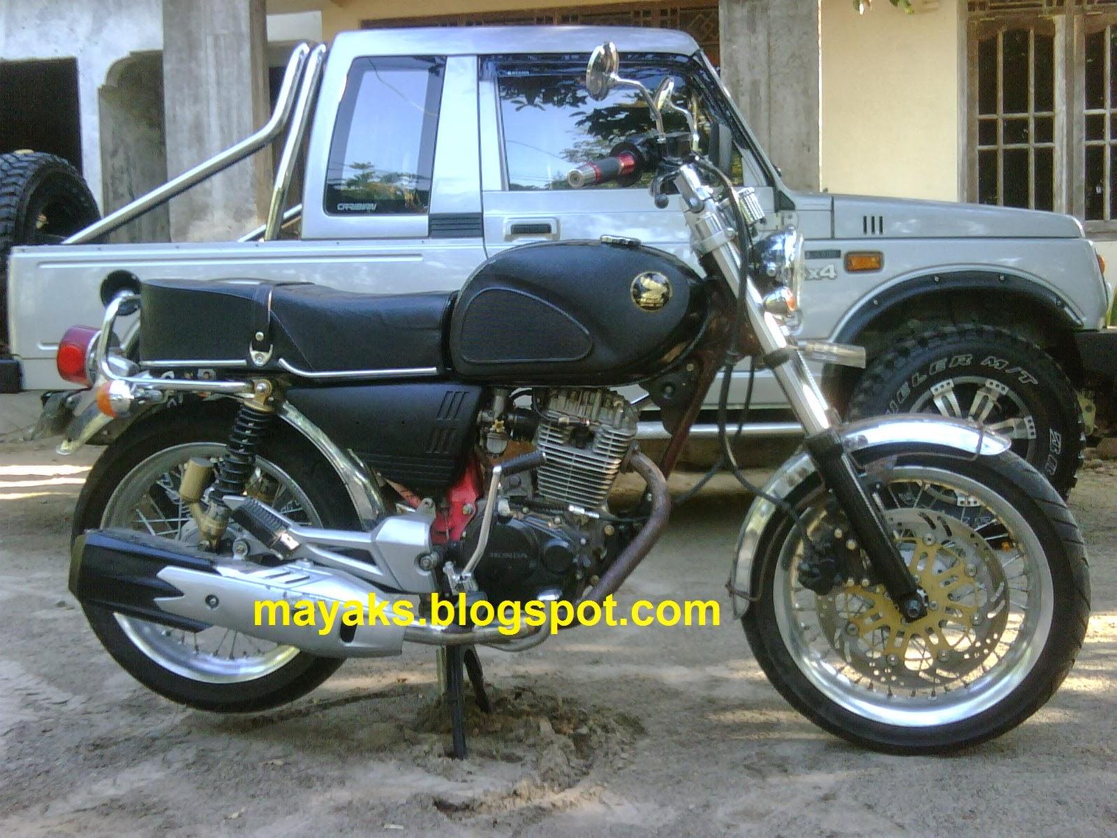 Honda CB 100 Modifikasi