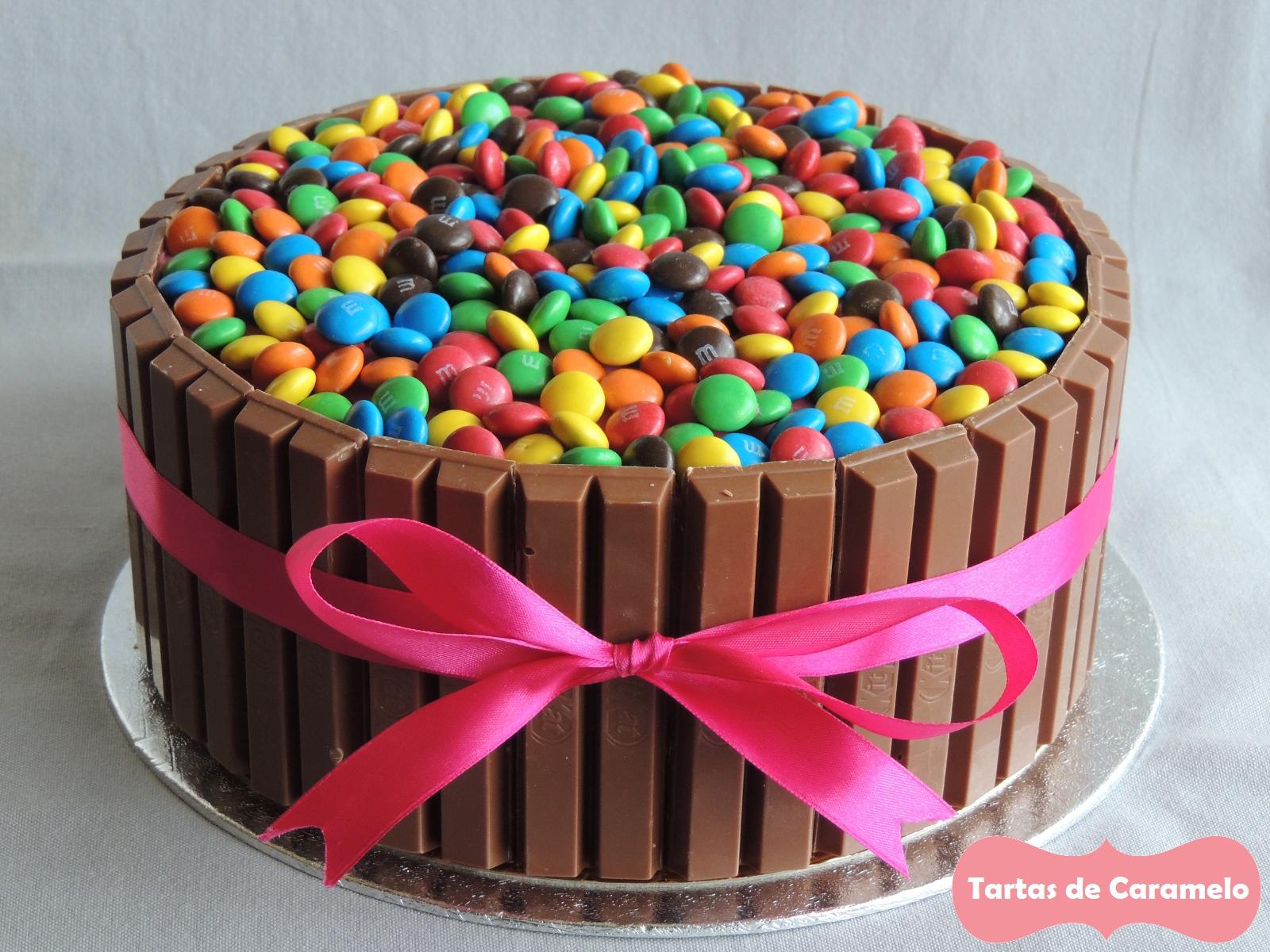 Tartas de caramelo tartas - Bizcochos cumpleanos infantiles ...
