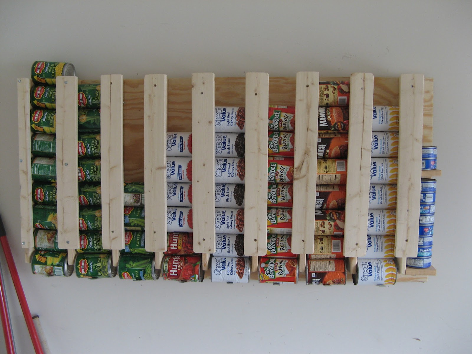 Canned Food Wall Storage