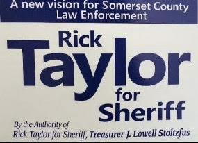 Rick Taylor For Somerset Sheriff