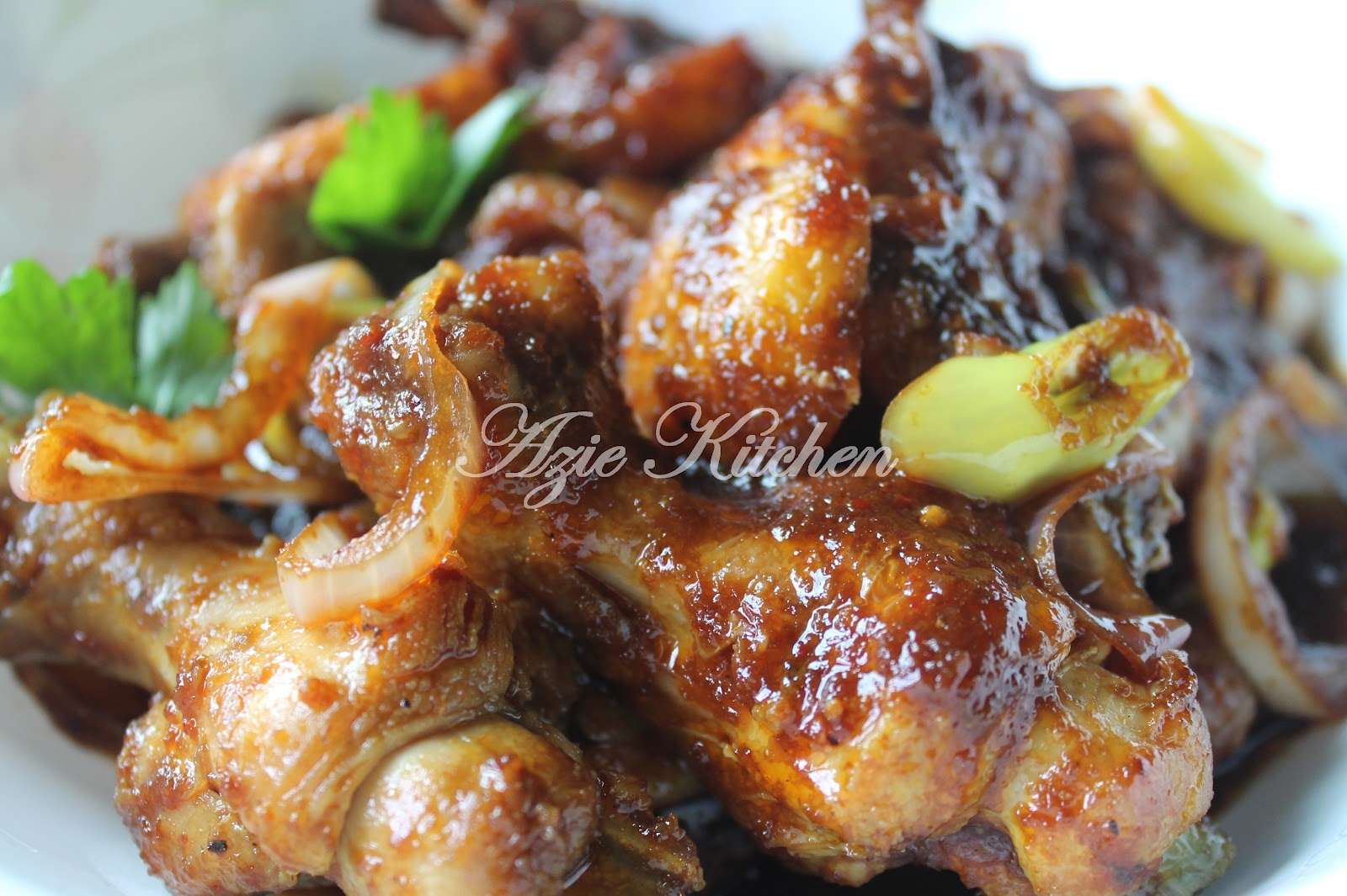 Ayam Masak Black Pepper Azie Kitchen