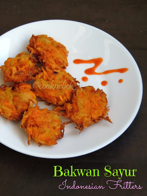 Bakwan Sayur; Indonesian Vegetable Fritter