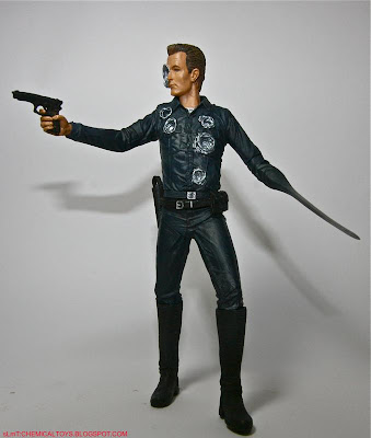 T 1000 Terminator Terminator 2: Judgment Day - T 1000 (Mcfarlane 2001)   CHEMICAL TOYS
