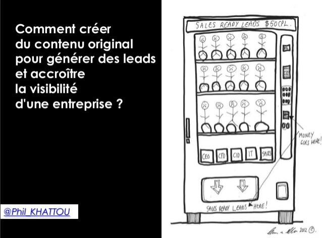 Comment cr er du contenu original pour g n rer des leads for Creer une entreprise de service aux entreprises
