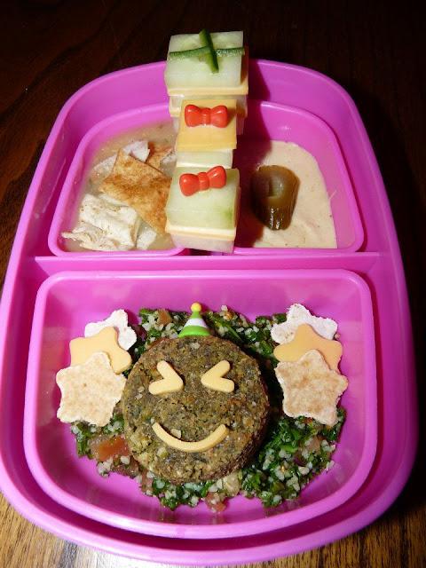falafel mediterannean bento lunch