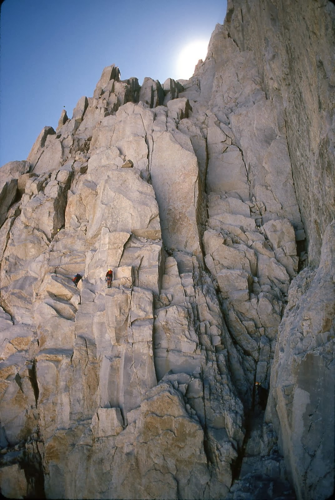 Fresh Air Traverse..East Face..Mount Whitney