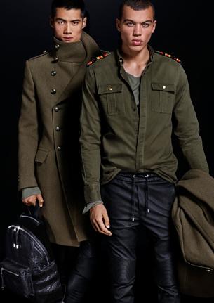 Balmain para H&M abrigo hombre camisa