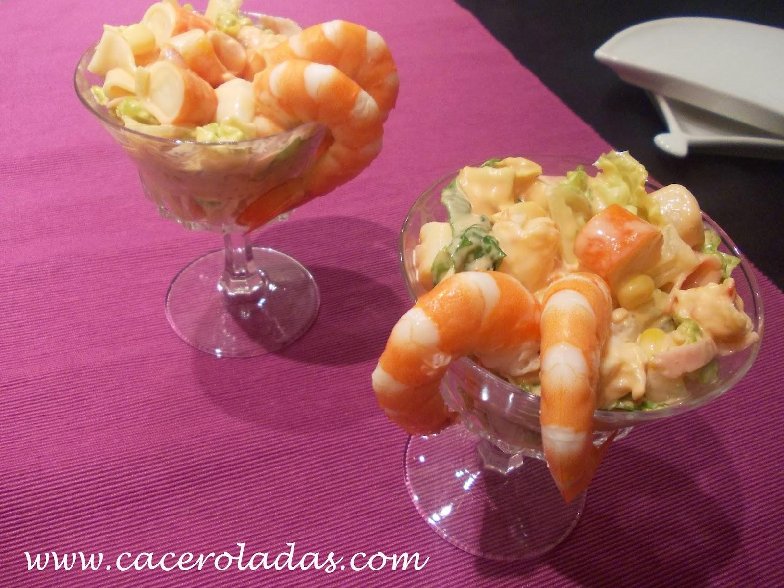 Coctel de marisco - Coctel de marisco ingredientes ...