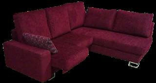Chaise longue de tela