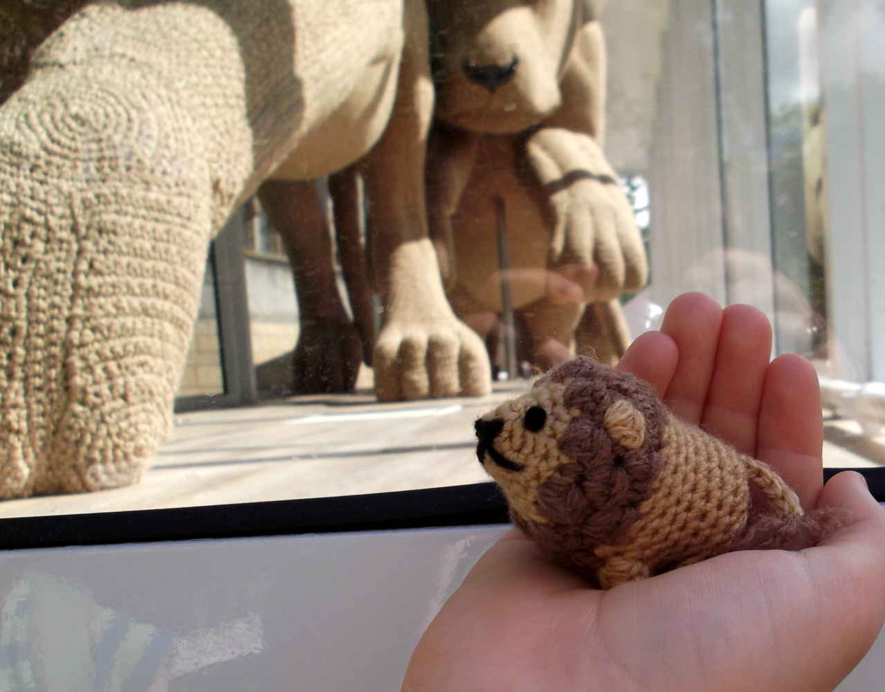 Little Amigurumi Lion : Lucyravenscar crochet creatures lionheart project and pattern