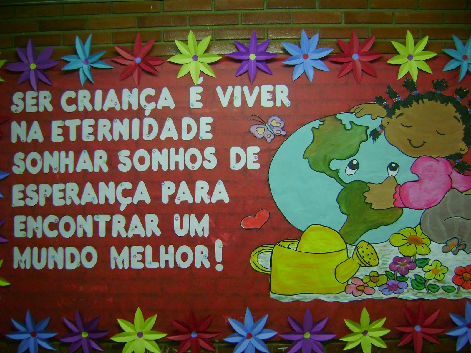 Frases Para Mural Dia Das Crianças