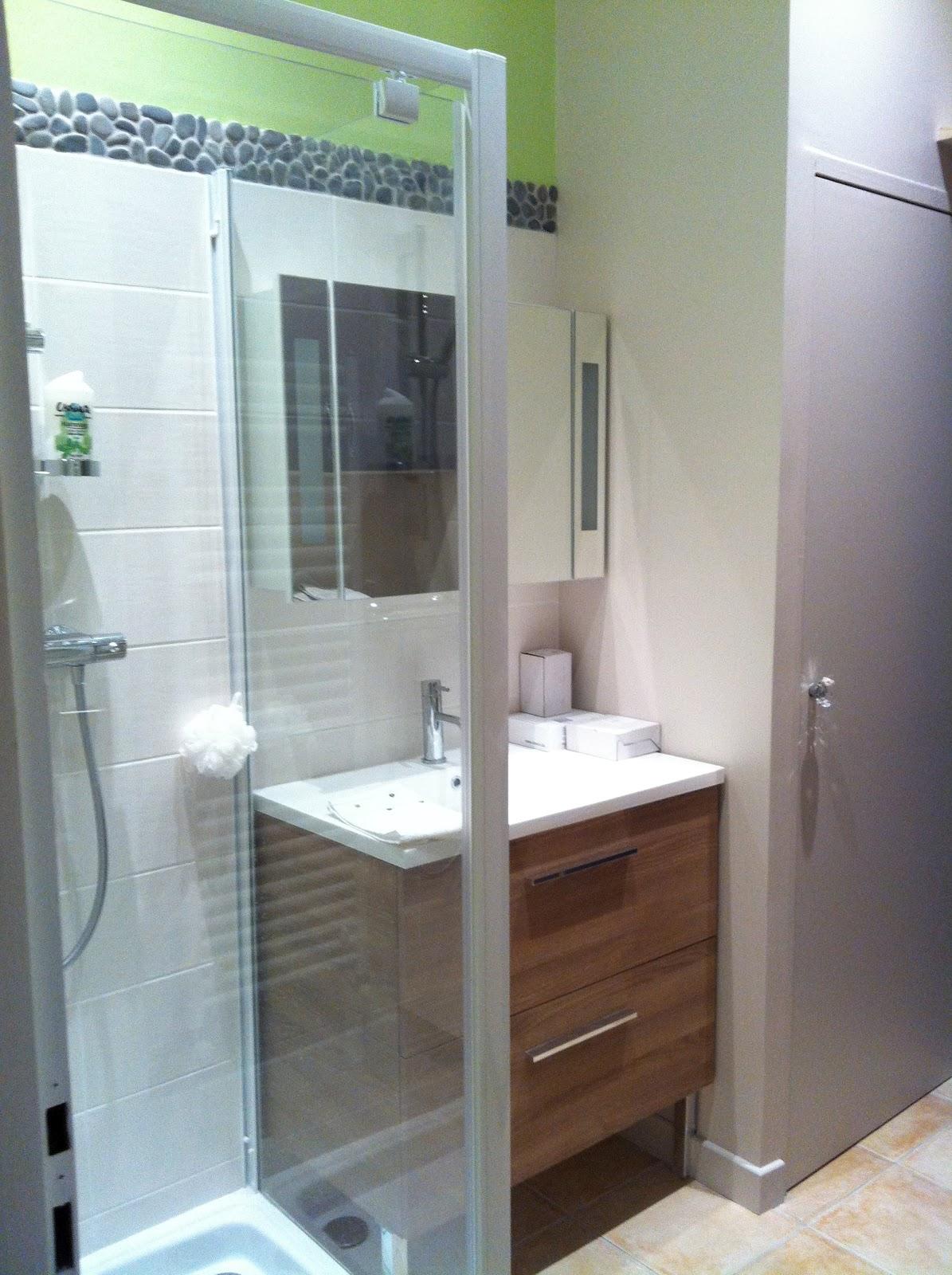 L 39 atelier des f es creation d 39 une salle de bain dans un - Machine a laver dans salle de bain ...