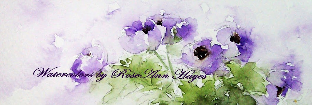 Watercolor Prints by RoseAnn Hayes