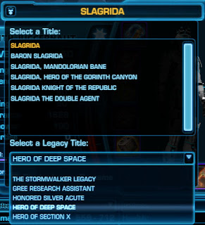 SWTOR Patch 1.7 Legacy Titles