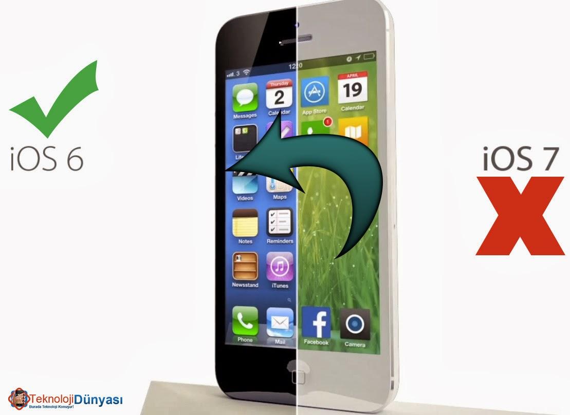 iphone ios downgrade
