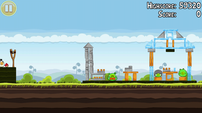 Angry Birds 4-3 Mighty Hoax