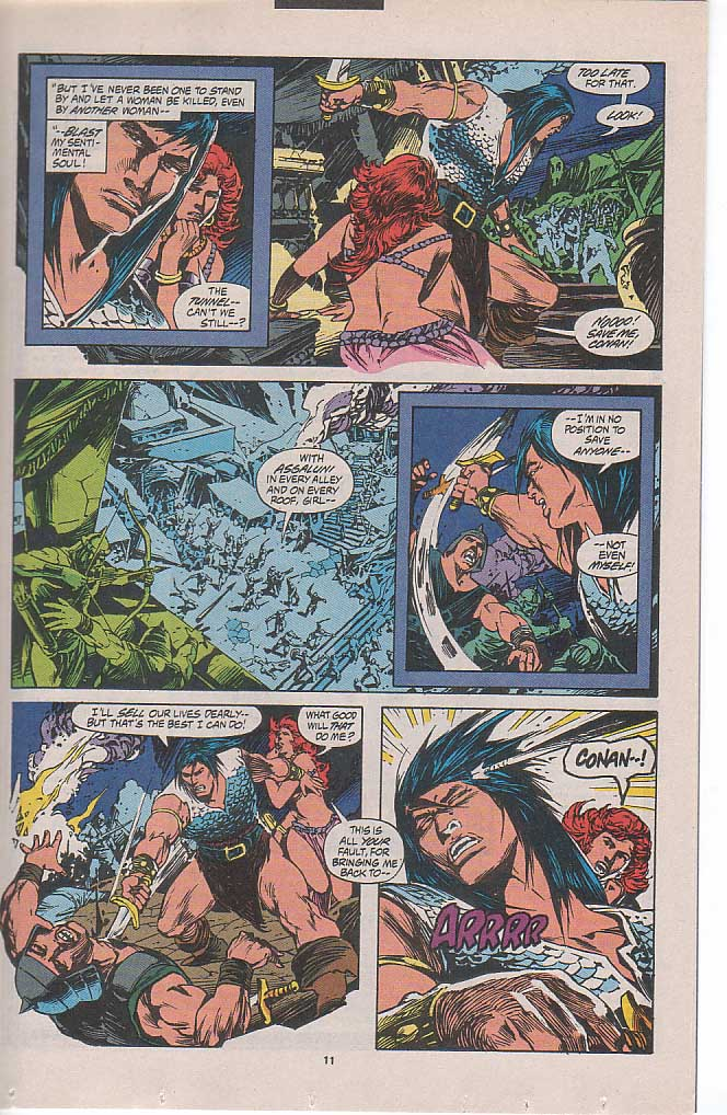 Conan the Barbarian (1970) Issue #262 #274 - English 8