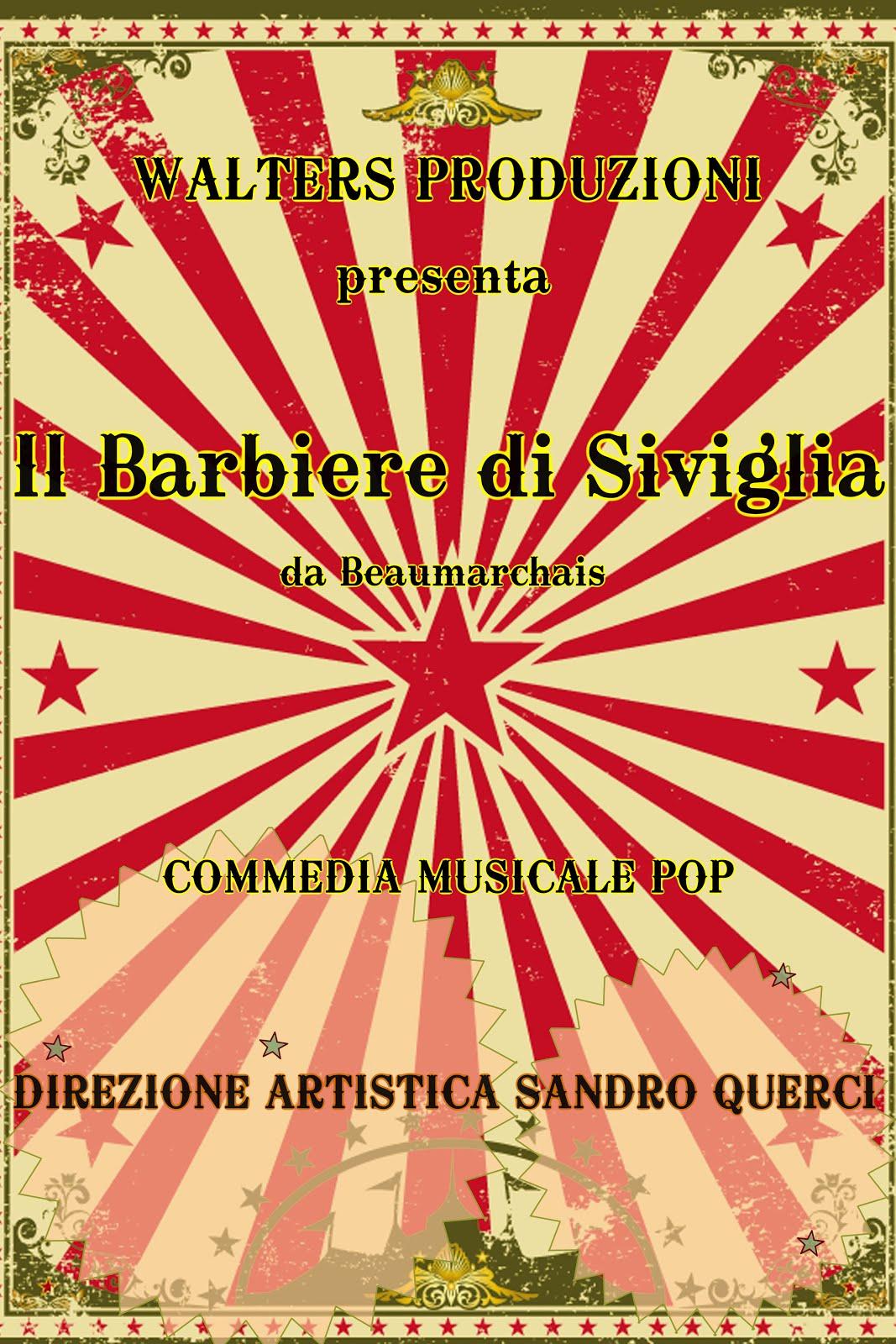 """AUDIZIONI PER CANTANTI/ATTORI """"IL BARBIERE DI SIVIGLIA"""""""