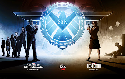 Agents of SHIELD and Agent Carter - Comic-Con poster