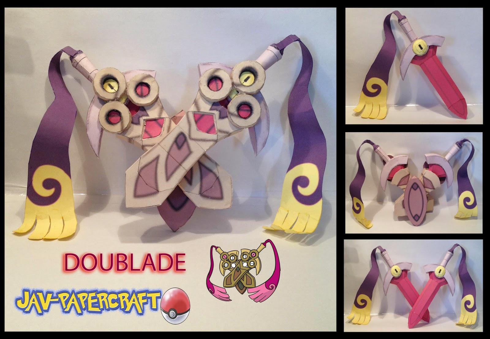 Pokemon Doublade Papercraft