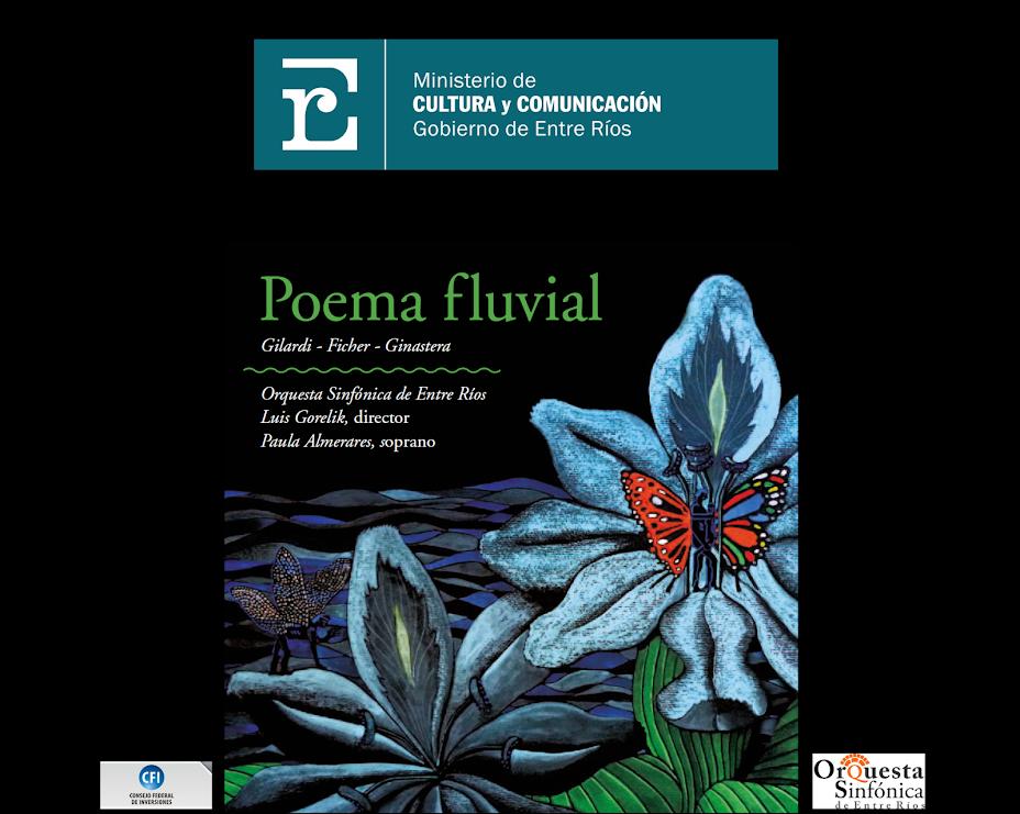 Descarga Gratuita del Nuevo CD de la OSER: Poema Fluvial