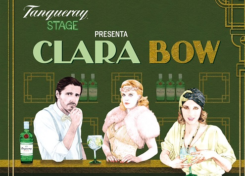 "CLARA BOW. [TEATRO] ""el glamour de una ´it girl´  "" by Tanqueray Stage."
