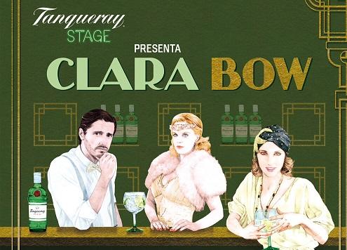 """CLARA BOW. [TEATRO] """"el glamour de una ´it girl´  """" by Tanqueray Stage."""