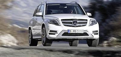 Mercedes GLK modelo 2012