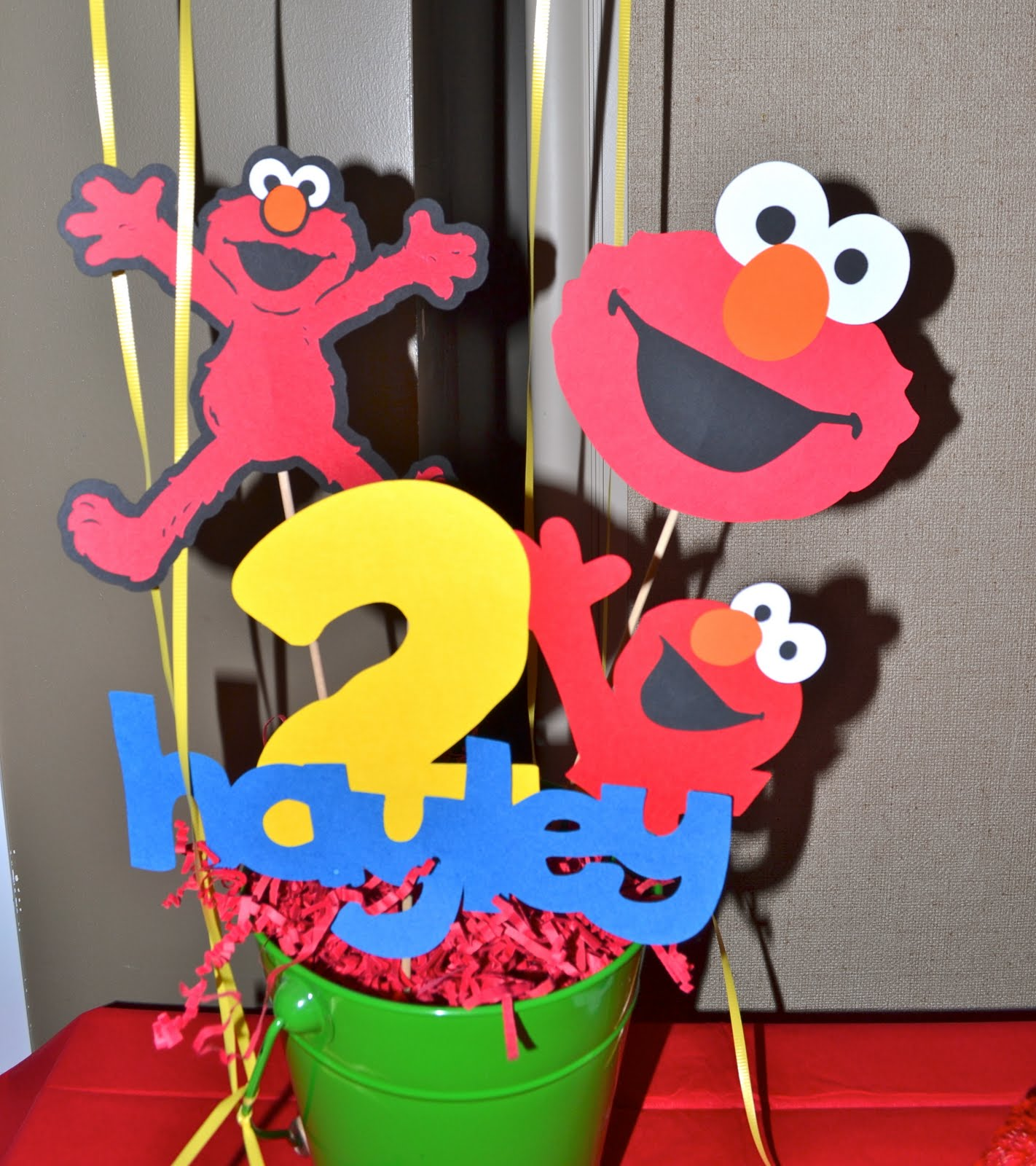 Buggy's Basement: Elmo Birthday Party