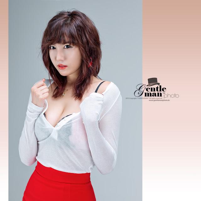 1 Sexy Red - Jung Yu Ri -Very cute asian girl - girlcute4u.blogspot.com