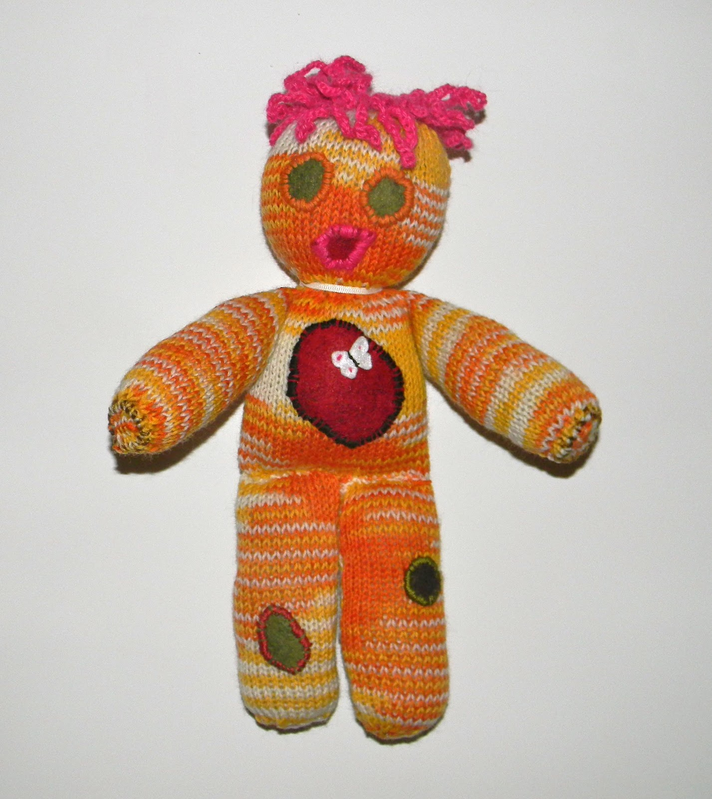 Knit Doll Pattern Easy : Louise Knits: Easy knitted doll